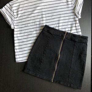 Forever 21 Zipper Skirt!